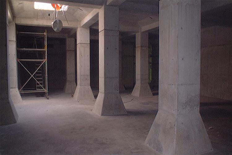 船津浄水場浄水池増設工事