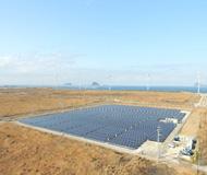 太陽光発電施工サンプル写真1