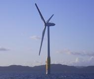 風力発電施工サンプル写真1