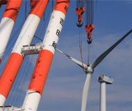 風力発電施工サンプル写真2