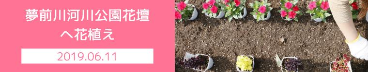 街路花壇への植栽